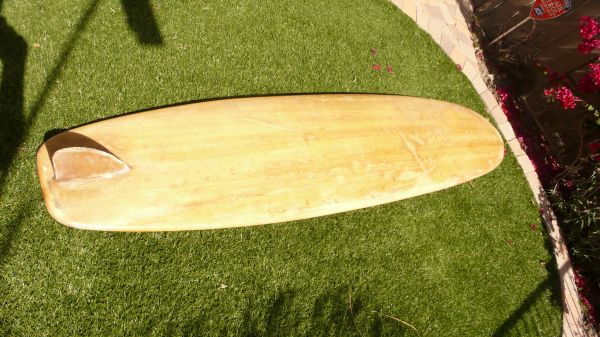 1957 Hobie Balsa Longboard