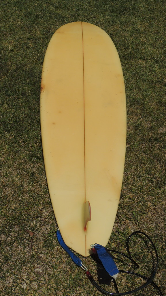 Rick Surfboard Bottom