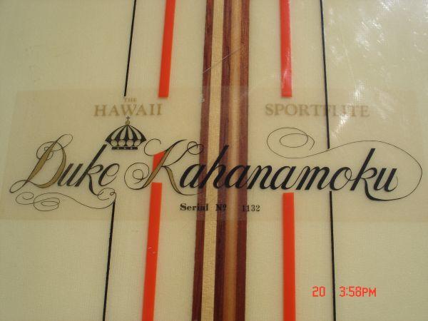 1965 Duke Kahanamoku