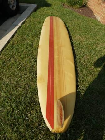 Vintage Bob 'Ole' Olson Surfboard