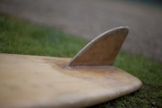 James Blears Balsa Surfboard