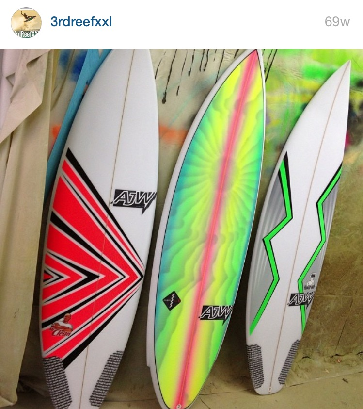3rd reef xxl Surfboard Art