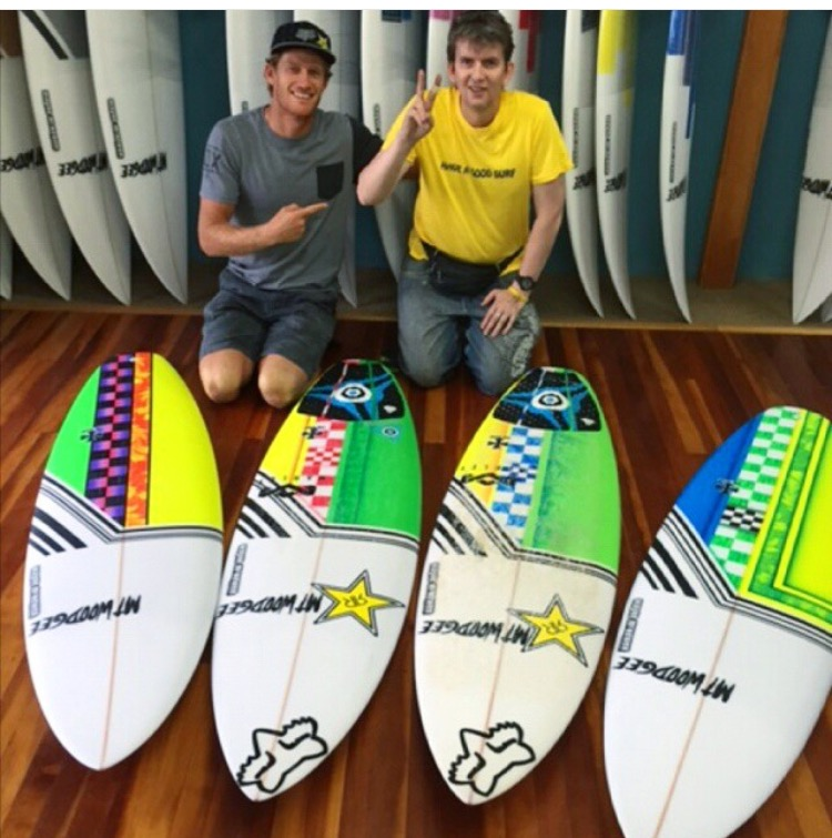 Bede Durbidge Quiver Surfboards
