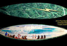 The Pipeline Trophy Board, A Phil Roberts and Gerry Lopez Collaboration