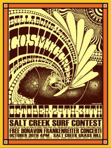 Salt Creek Cosmic Creek Contest poster By Tyler Warren