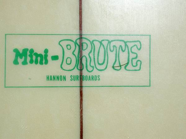 Mini Brute Hannon Surfboard