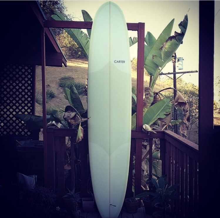 Carter Surfboards 9'0'' suare tail log