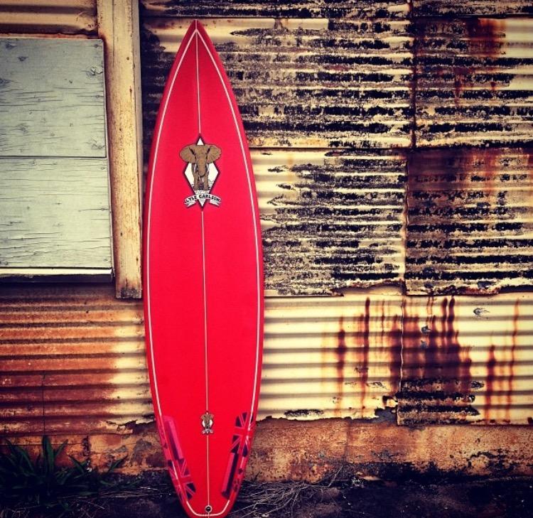 Lyle Carlson 6'6'' Shortboard