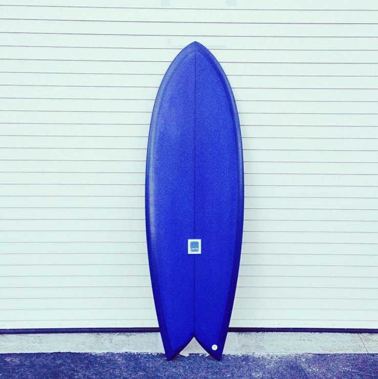 5'4'' Bliss Fish by Canvas Surfboards