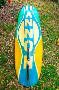 Hannon Surfboards Back