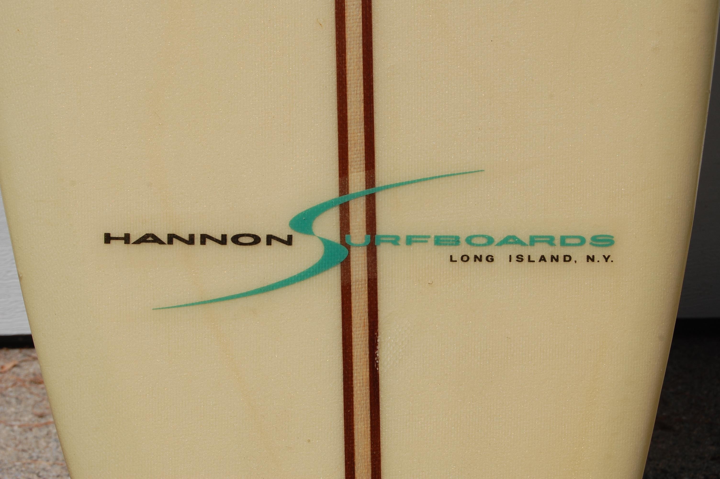Hannon Surfboards Logo