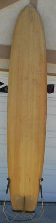 Hobie Balsa Surfboard