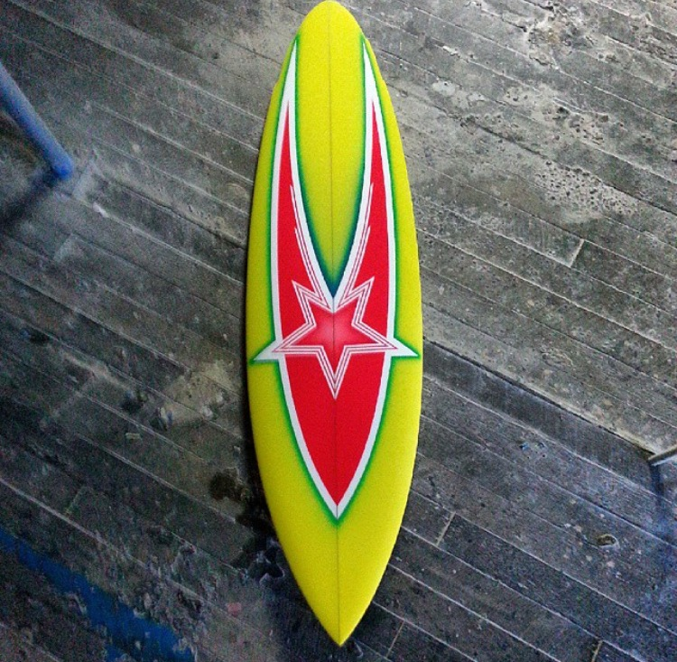 Hot Stuff Surfboards Willy Nichols Spray