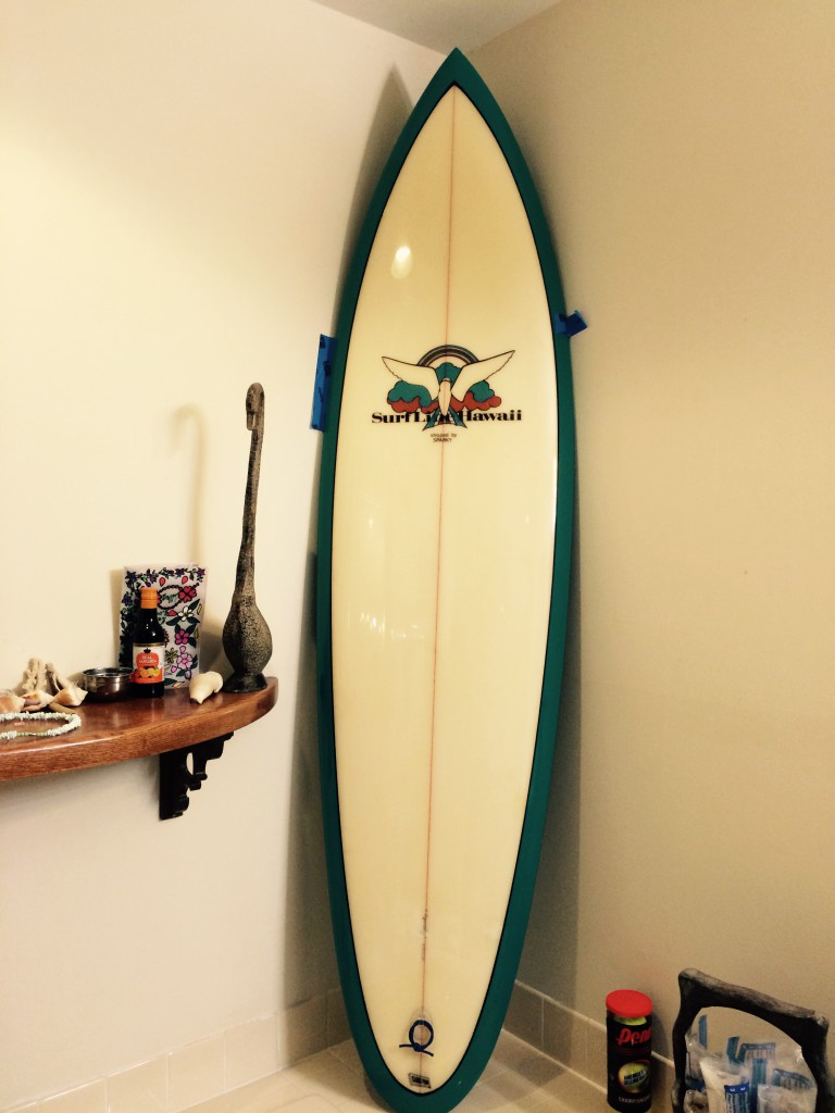 Sparkey Scheufelle Surfline Hawaii Surfboard