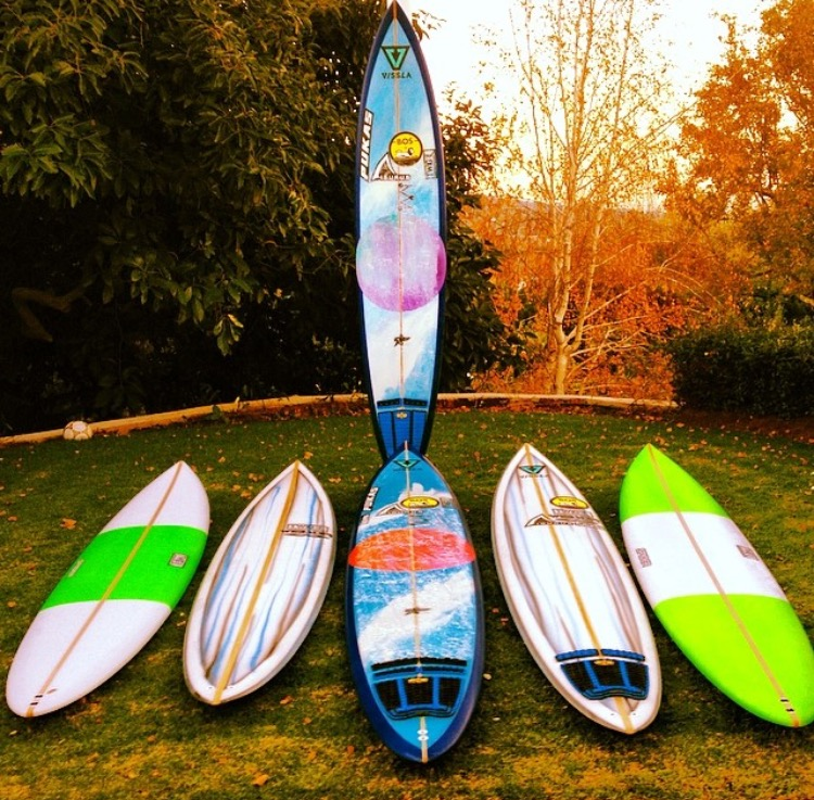 Twig Surfboads Quiver