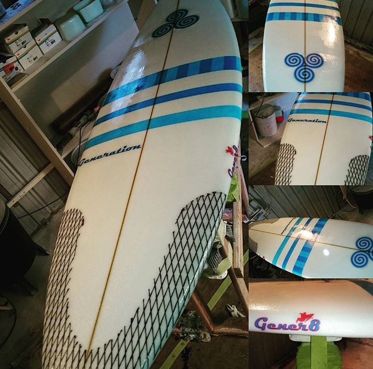 Nathan White Surfboards Gener 8 model