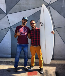 Paul Abbas Surfboards Lebanon