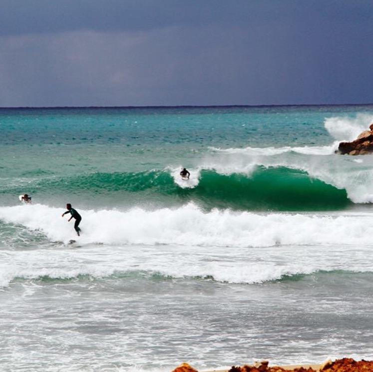 Surfing In Lebanon Photo: Surf Lebanon @surflebanon