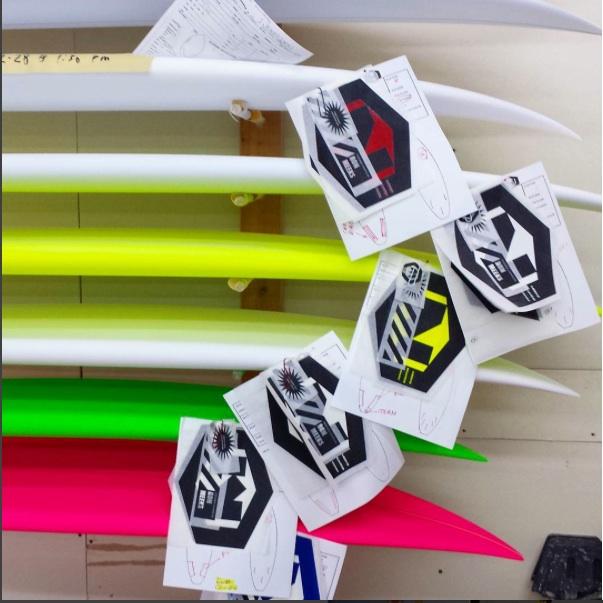 Ron Meeks handshaped custom orders Photo: Ron Meeks