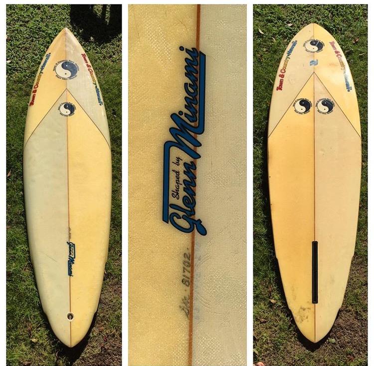 80's Glen Minami Surfboard