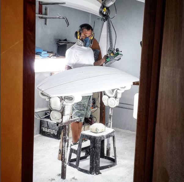 "Matt Kinoshita fears no blank part of the ""Aipa Method"" of shaping"
