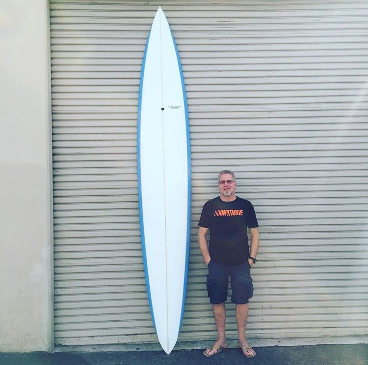 Roger Hinds Parabolic Rails Big Wave Gun