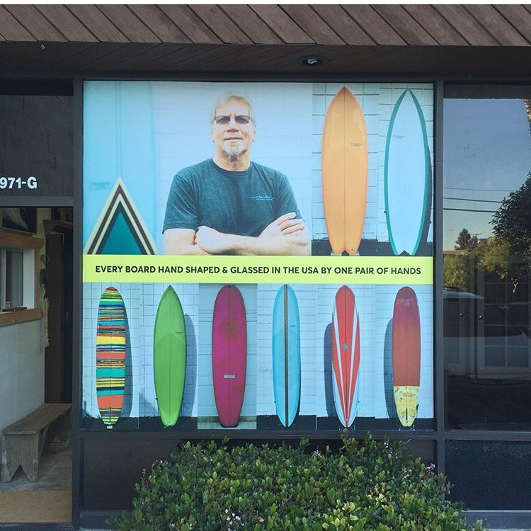 Roger Hinds new store front