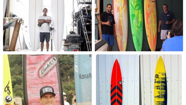 Peahi (Jaws) Big-Wave Board Design With Jeff Timpone, Matt Kinoshita, Ron Meeks and Aaron Gold