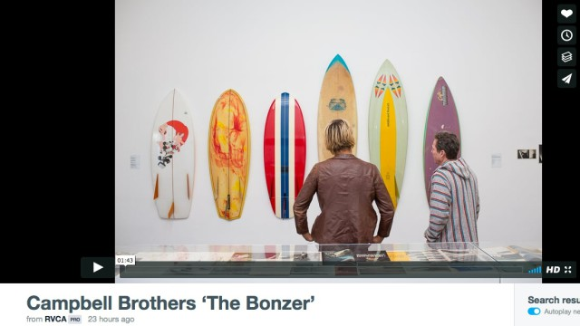 VIDEO: Showing of Campbell Brothers 'The Bonzer' Presented By RVCA