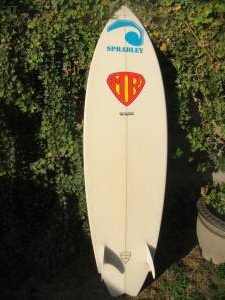 6'6'' MR Twin Fin Back