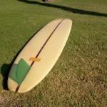 1964 Hobie green trnslucent fin