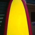 Hap Jacobs surfboard 2
