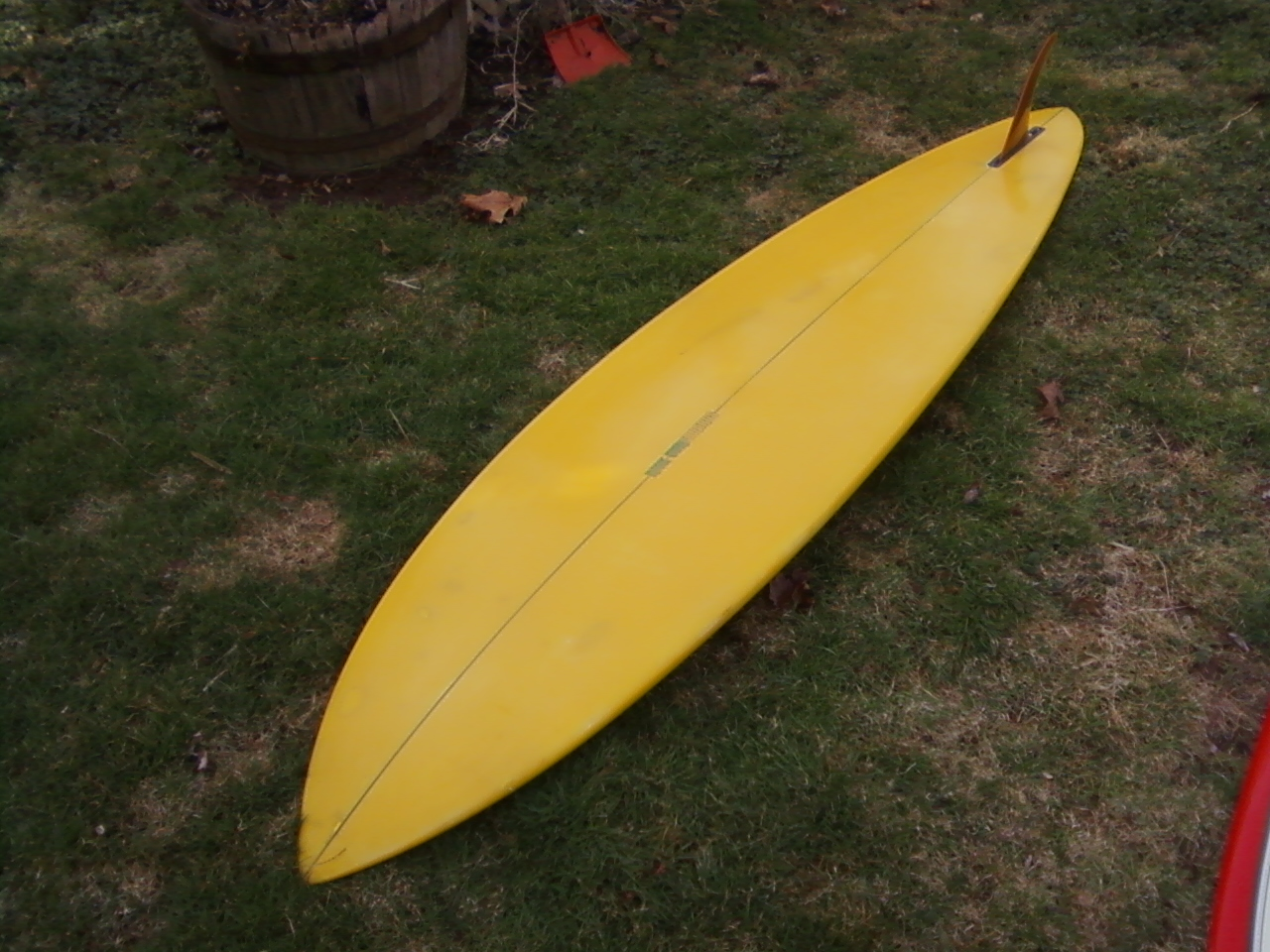 Phil Becker Rick Surfboard