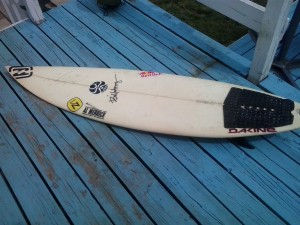 Andy Irons Surfboard