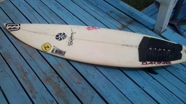 Al Merrick Andy Irons Surfboard