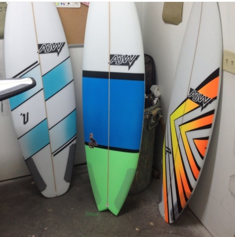 AJW Surfboards prays 3rdreefxxl