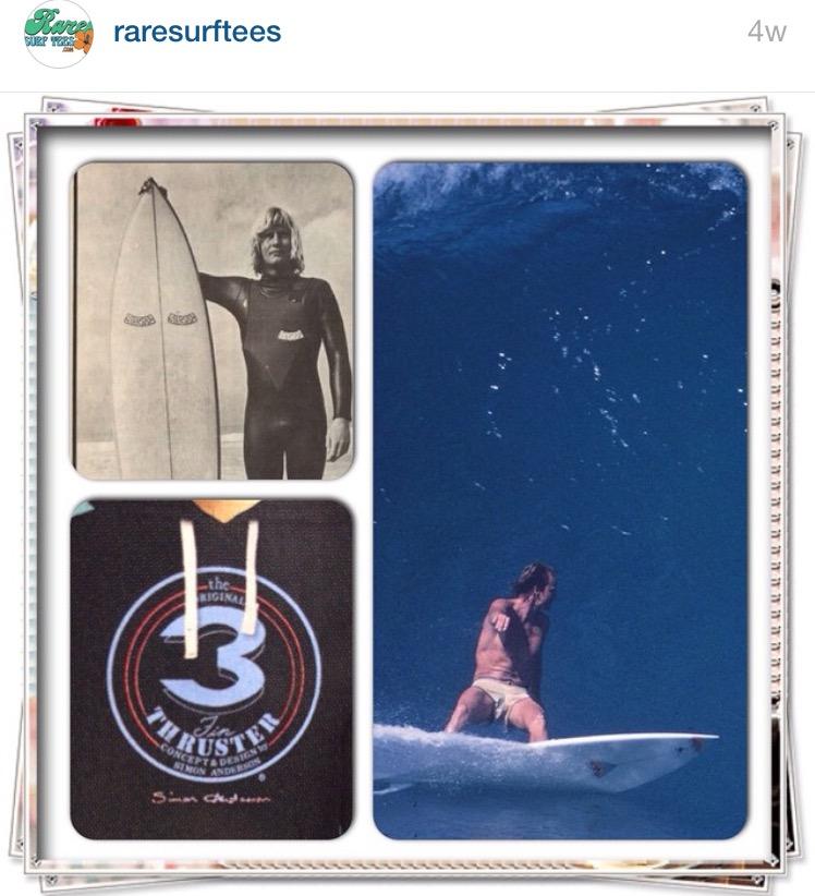 Simon Anderson Rare Surf Tees