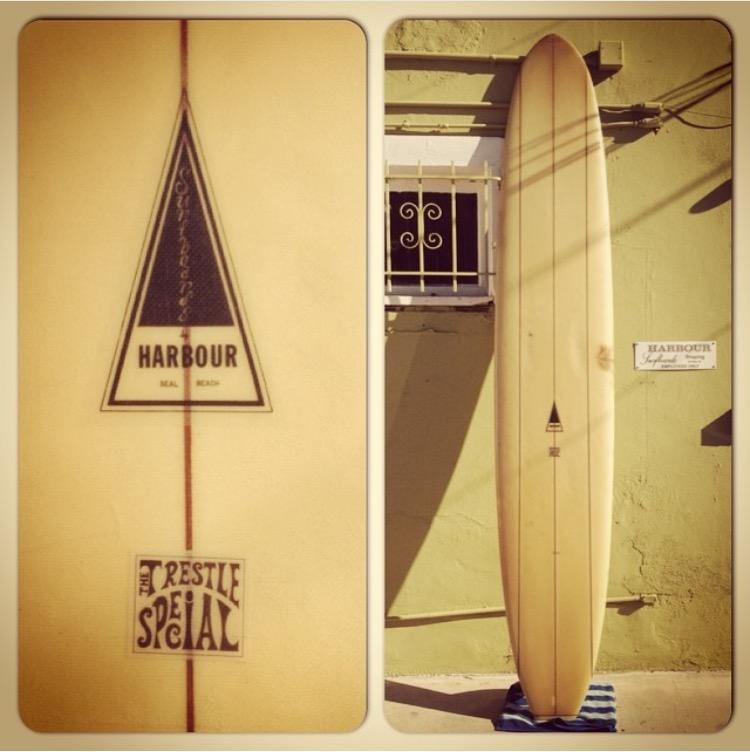 Vibtage 60's Harbour Surfboard