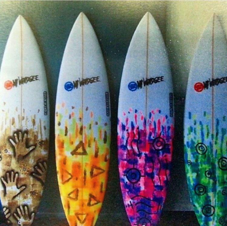 Will Nichols Surfboard Art