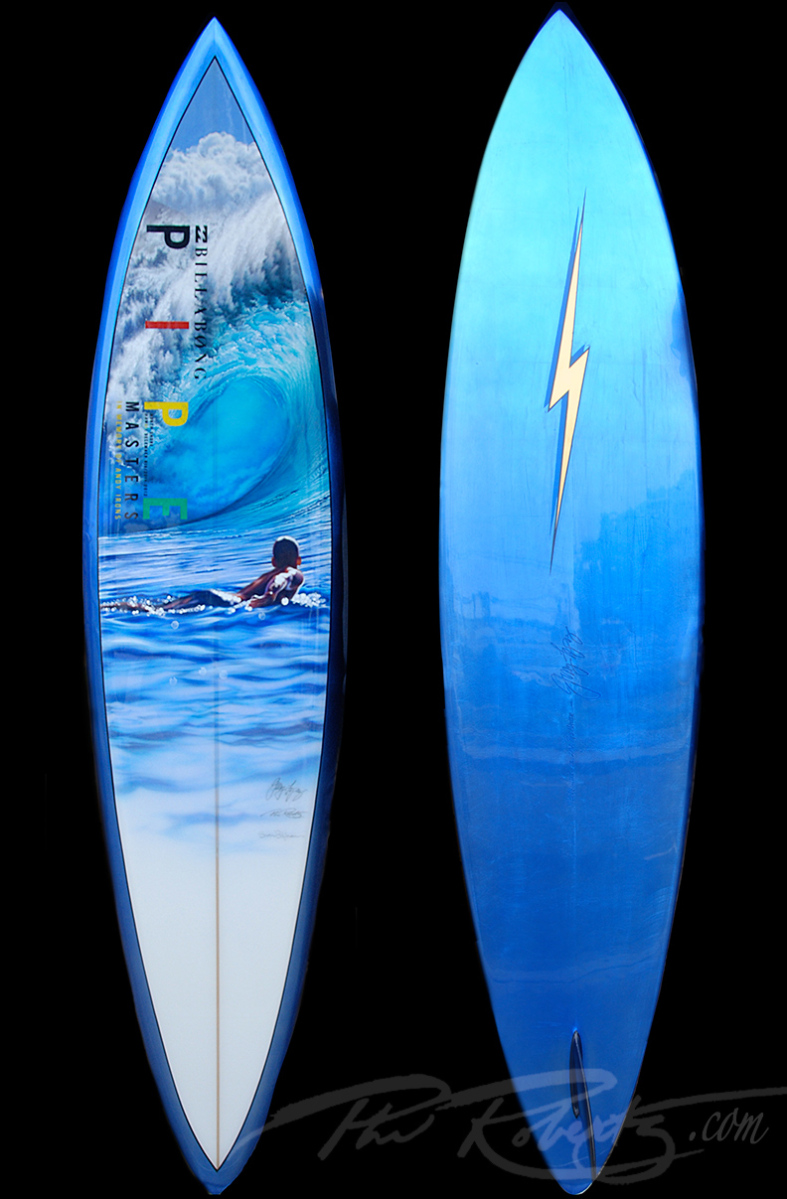 2012 Pipe Masters  Trophy Surfboard