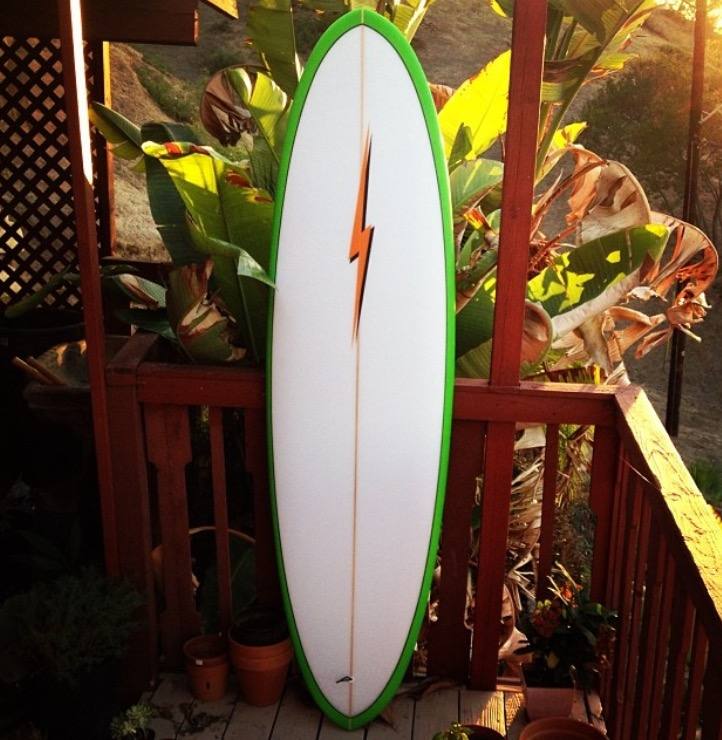 Irish Bolt Egg Carter Surfboards
