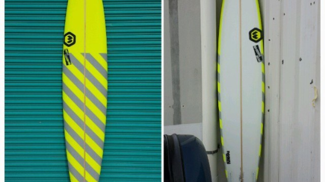 "Mark Healey's Ron Meeks 9'8"" Puerto Escondido Gun"