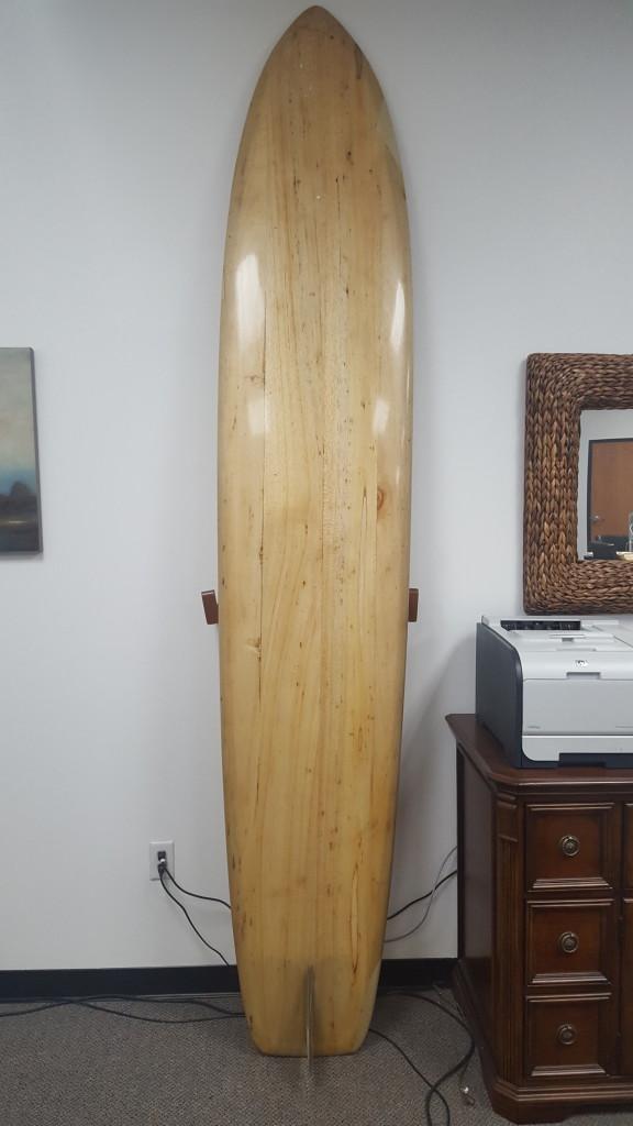 Dael Velzy Balsa Surfboard