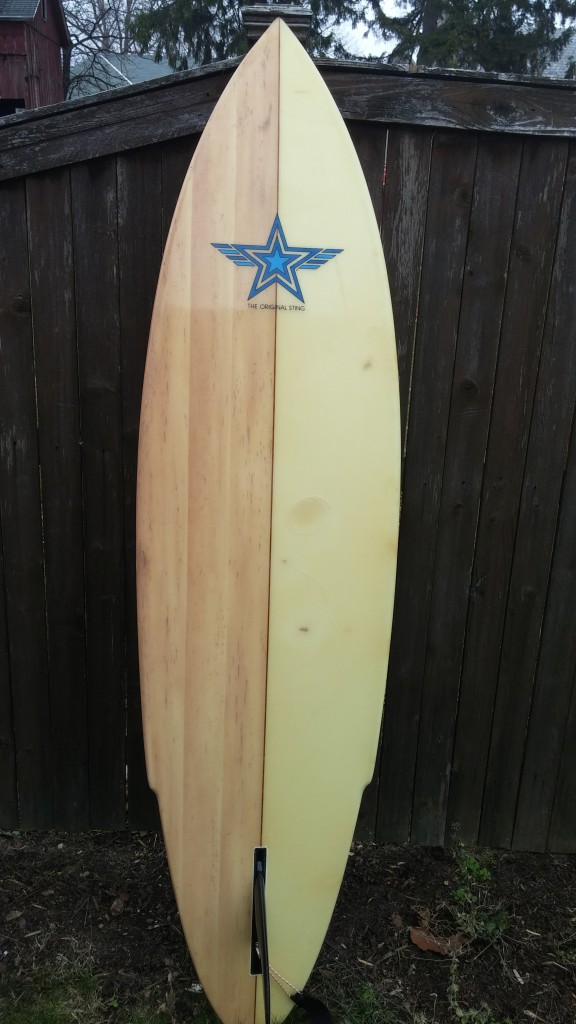Wave Crest hawaii Single Fin