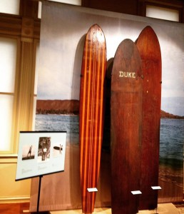 John kelly Duke Kahanamoku Tom Blake at the Bishop Museum