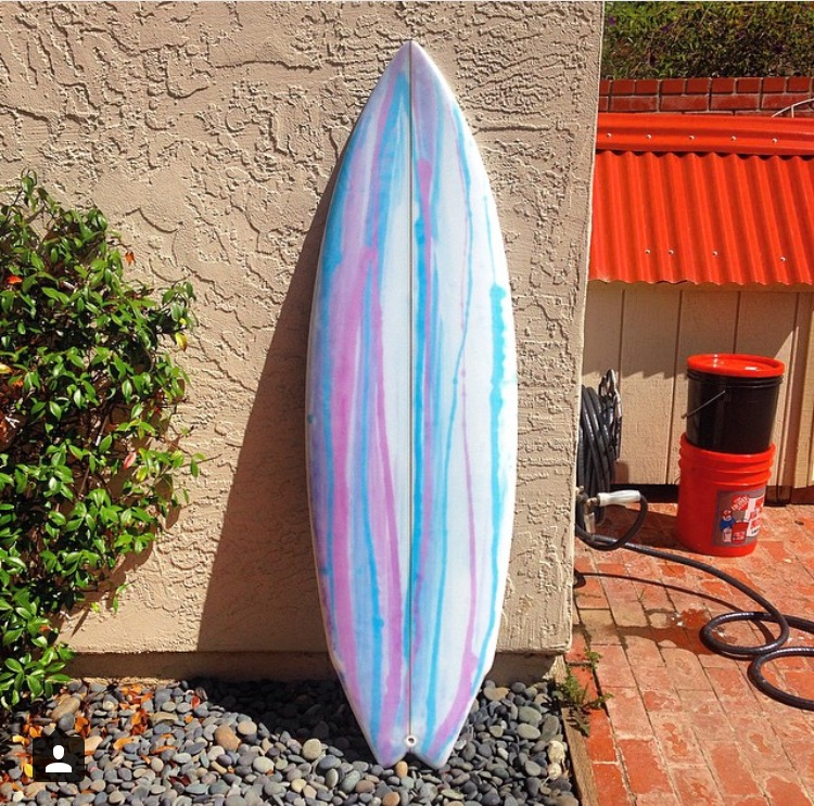 Mark Aaron Surfboards spray