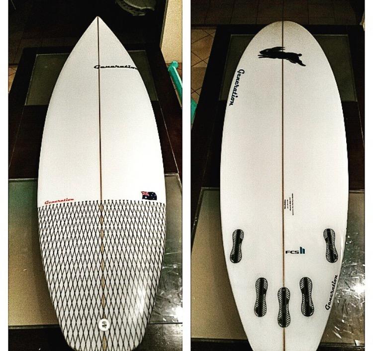 N White Surfboards