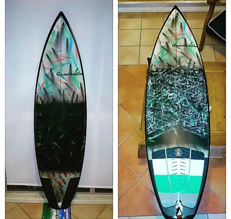 Nathan White Surfboards Generation Surf