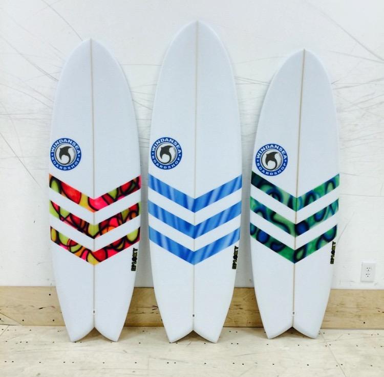 Wind an Sea Shortboards