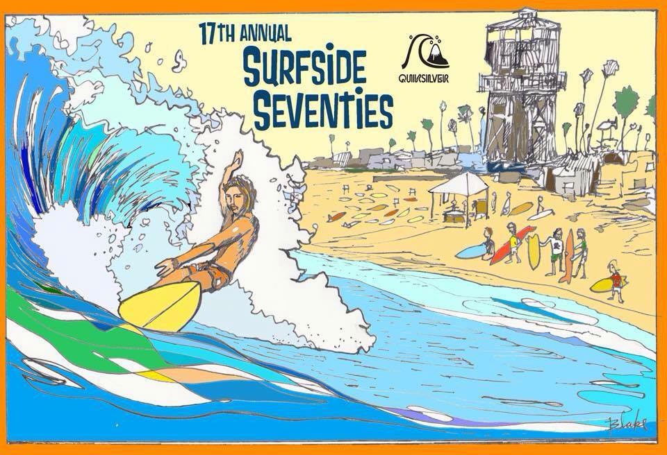 The Triple Crown Of Retro Surfing poster by Ricky Blake
